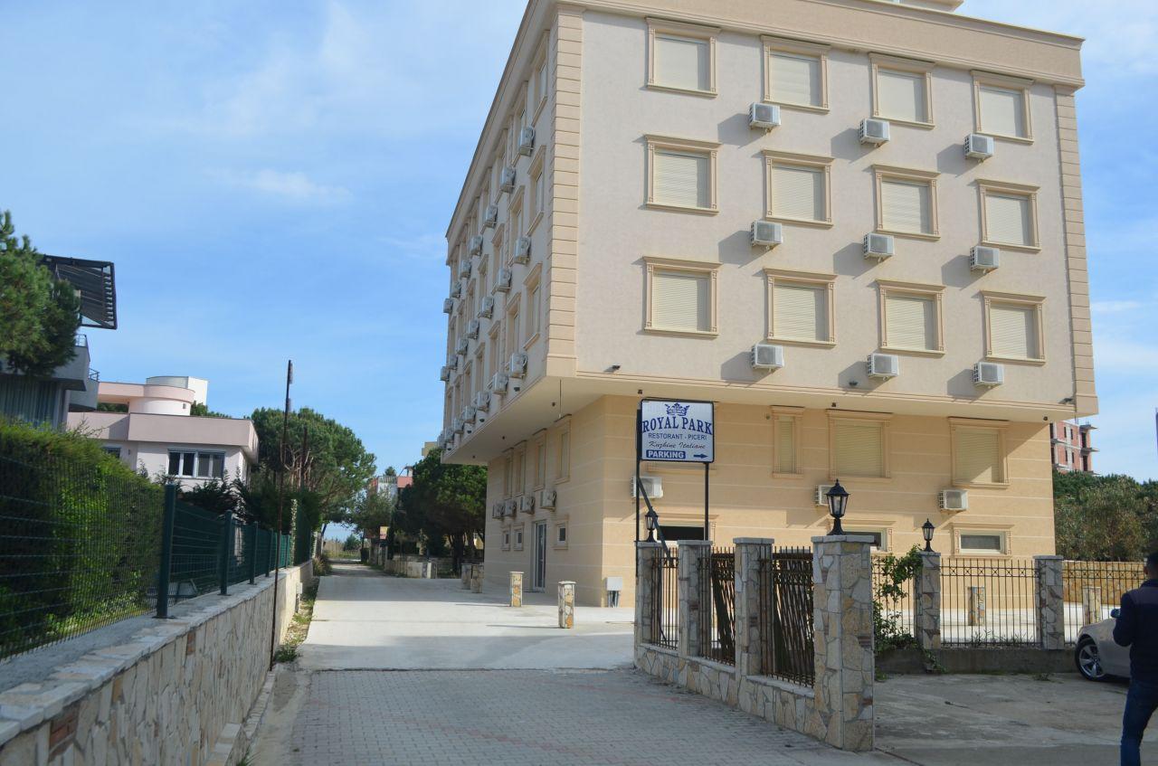 Nyaralás a Royal Park Hotelben, Durres Albánia
