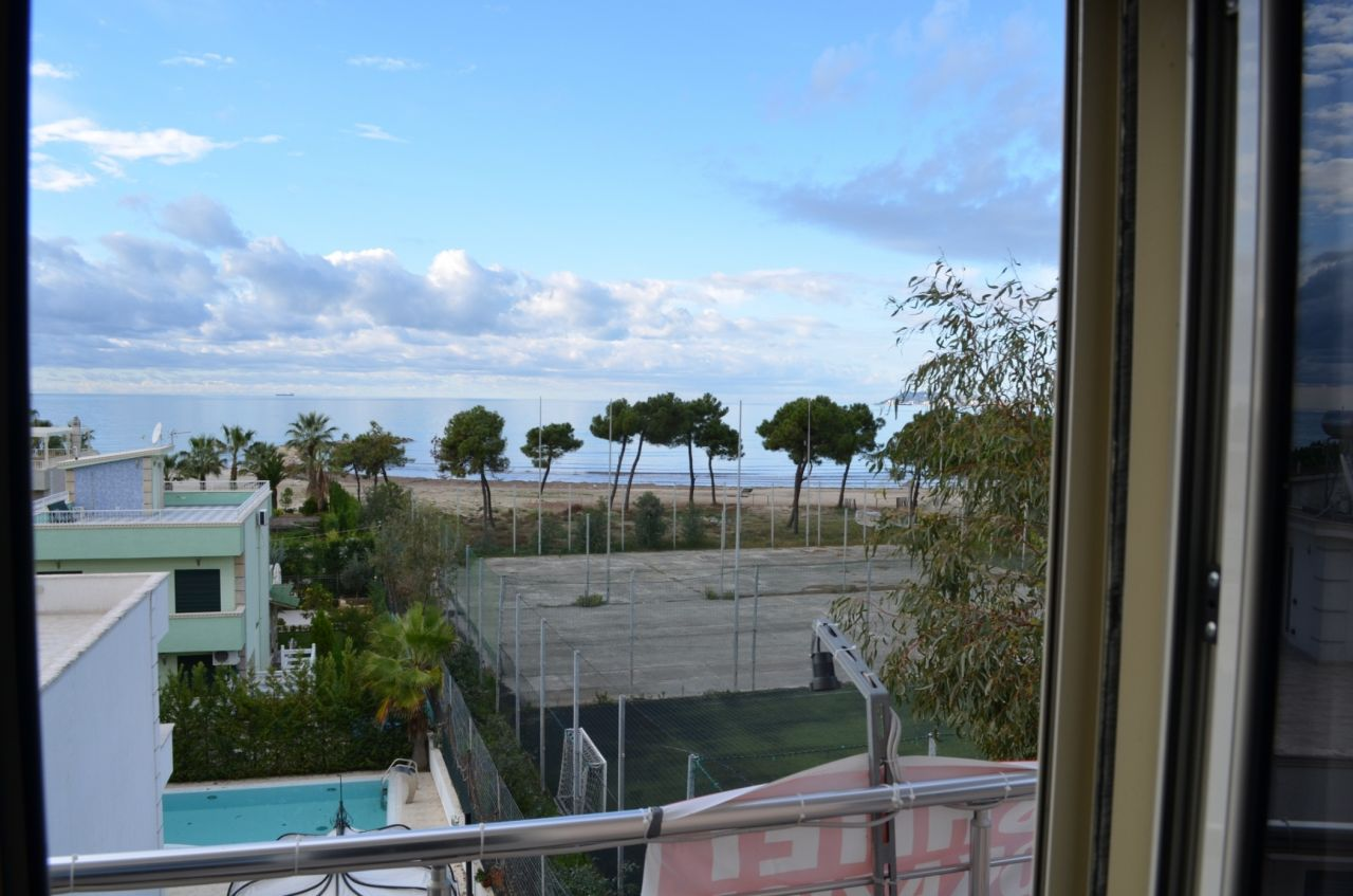 Beachfront Holiday Property in Albania, Durres. Finished Property for Sale in Albania, Durres