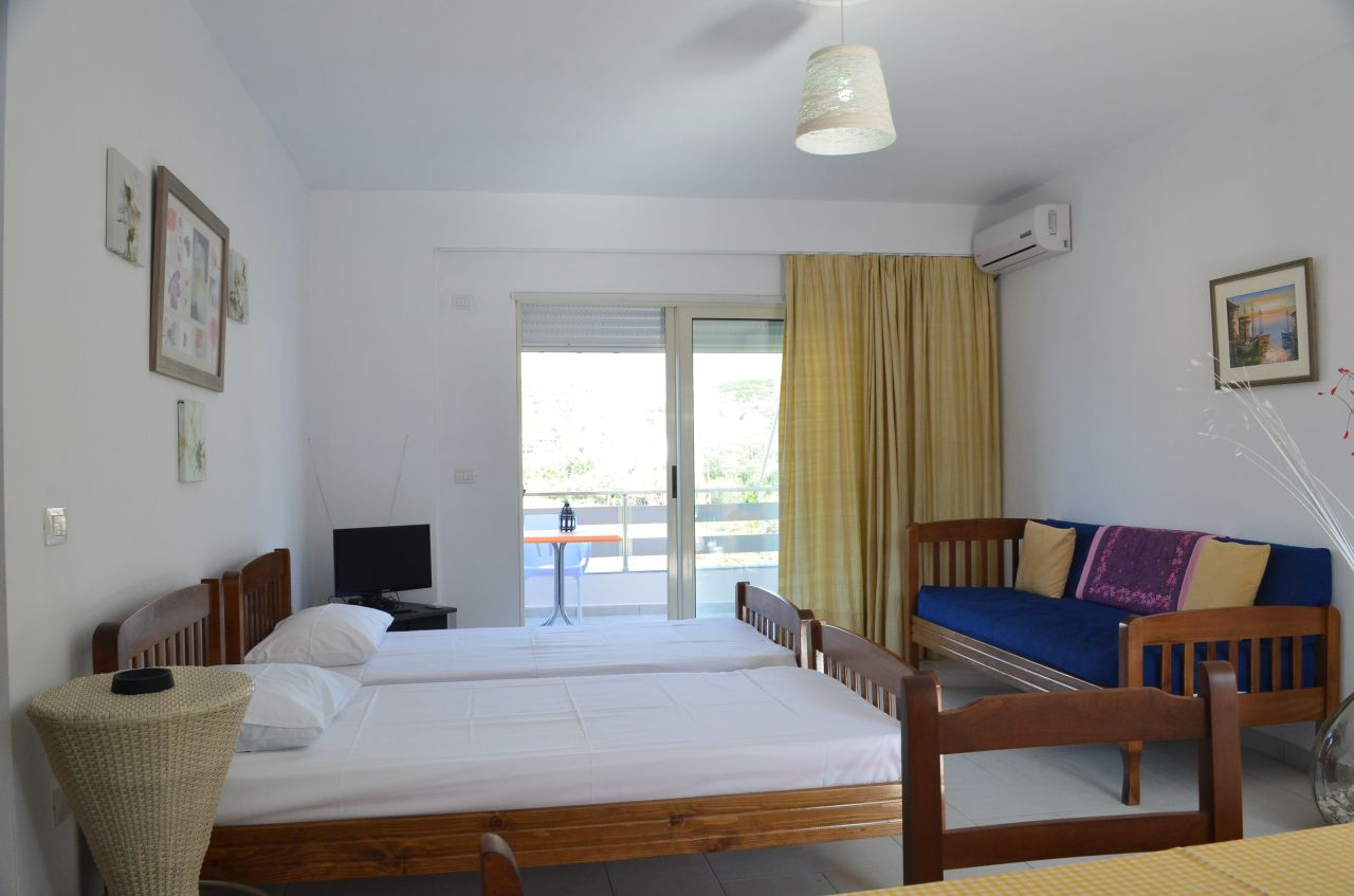 Apartment for rent in Himara. Apartments in albanian riviera
