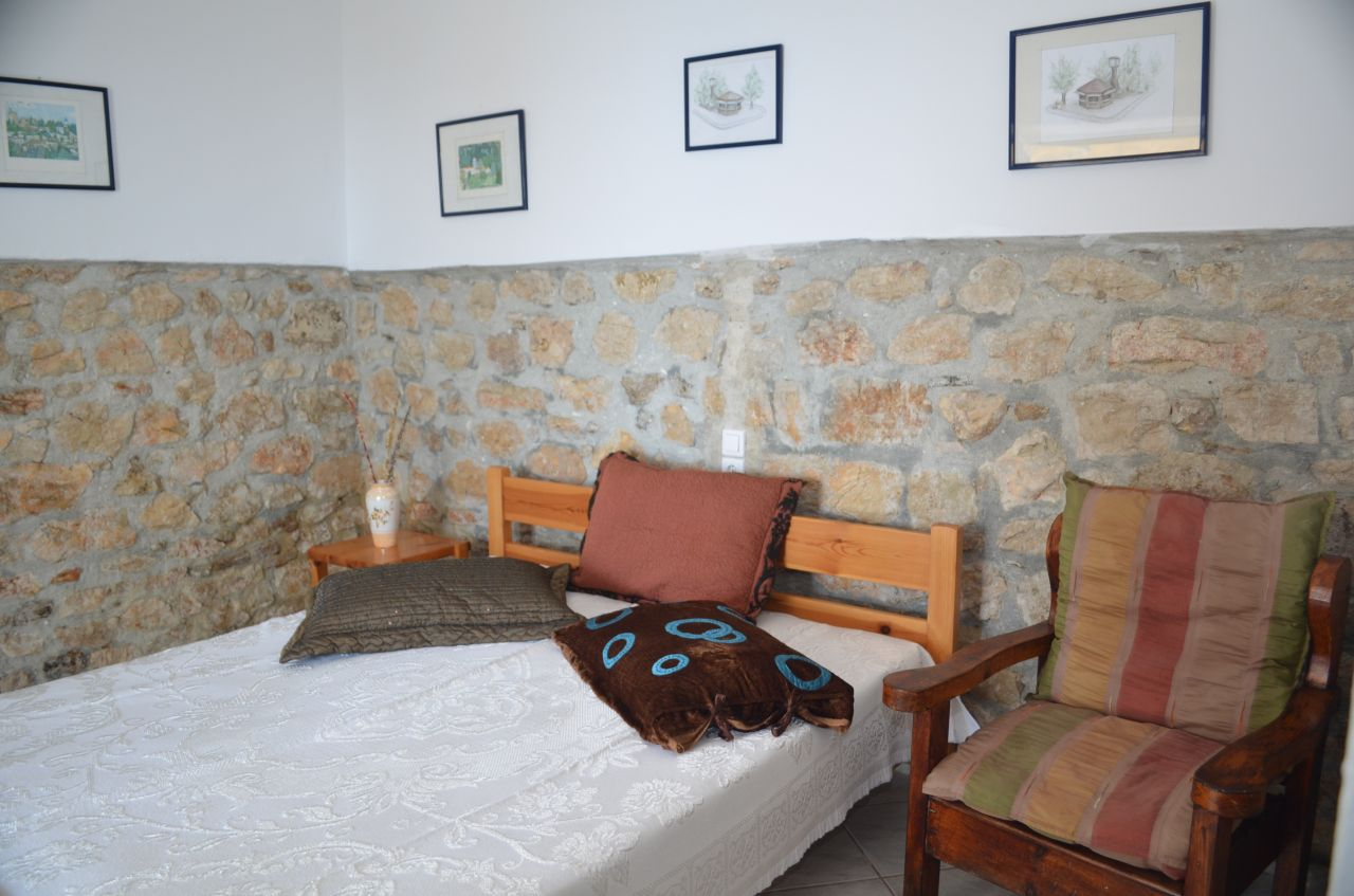 studio apartment for rent in himara. albania riviera