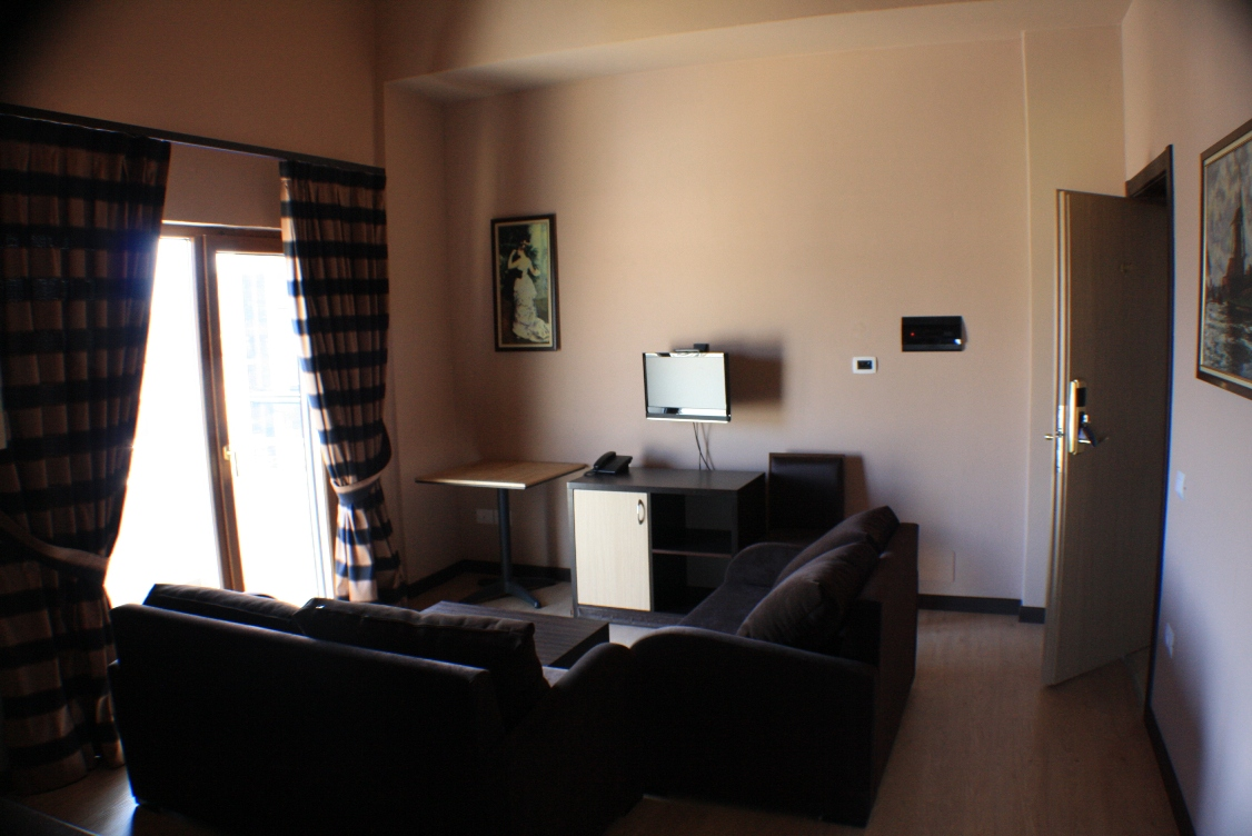Vacation rental in Ksamil, in Saranda City, close to the seashore of the Ionian Sea and the ancient city of Butrinti.