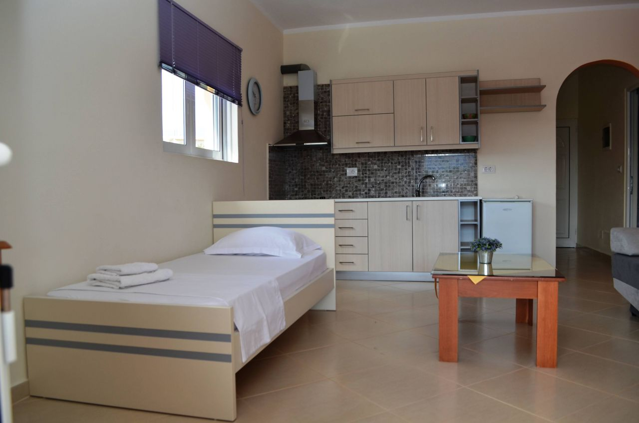 Holiday Apartments in Ksamil for Rent. Wonderful apartments in Ksamil for rent