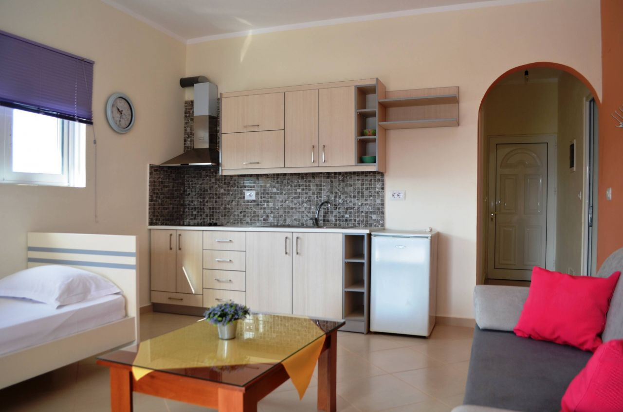 Vacation Apartment in Ksamil for Rent.