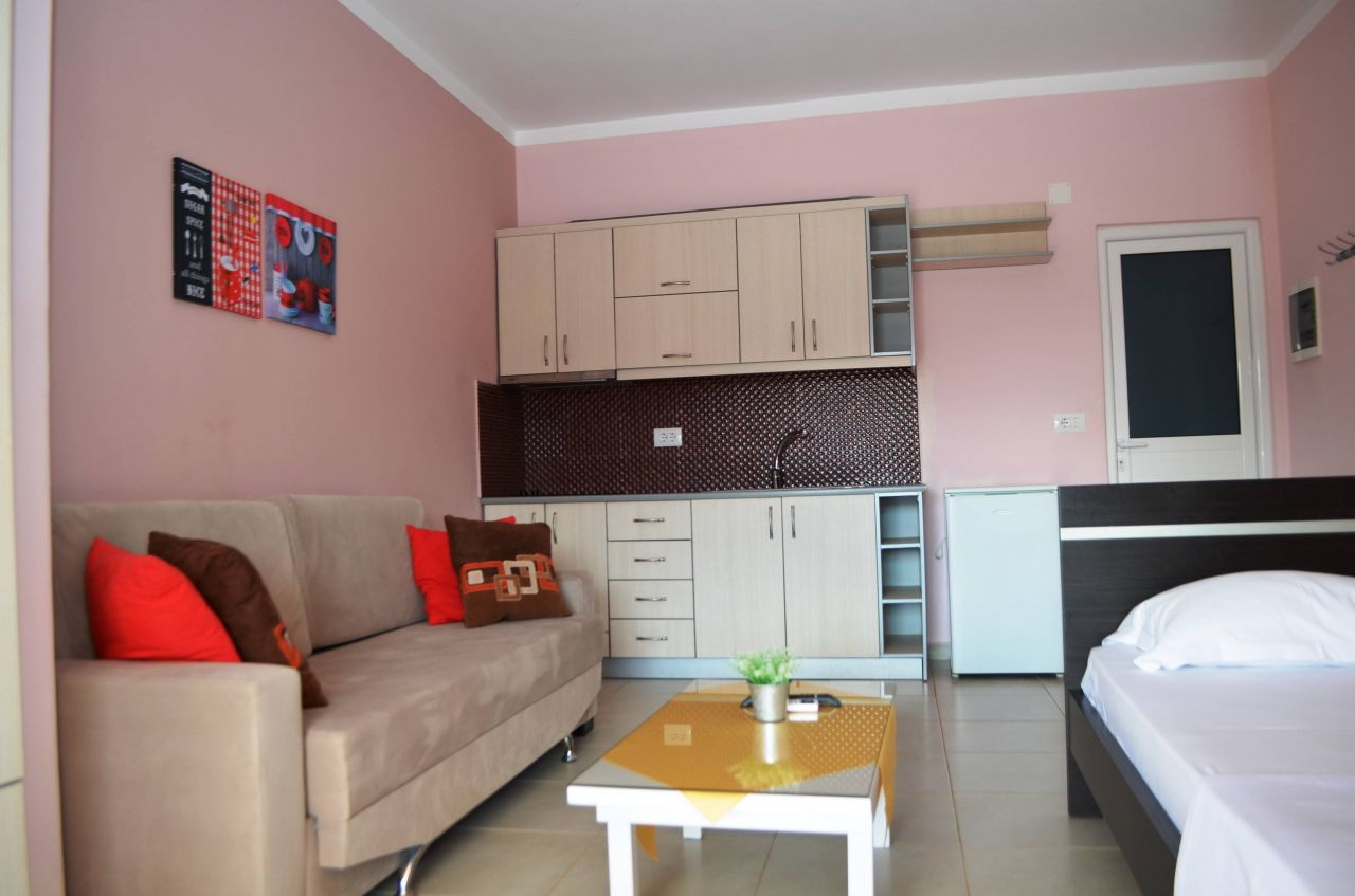 Rent Vacation Apartments in Ksamil. Vacations in Albania near Sea
