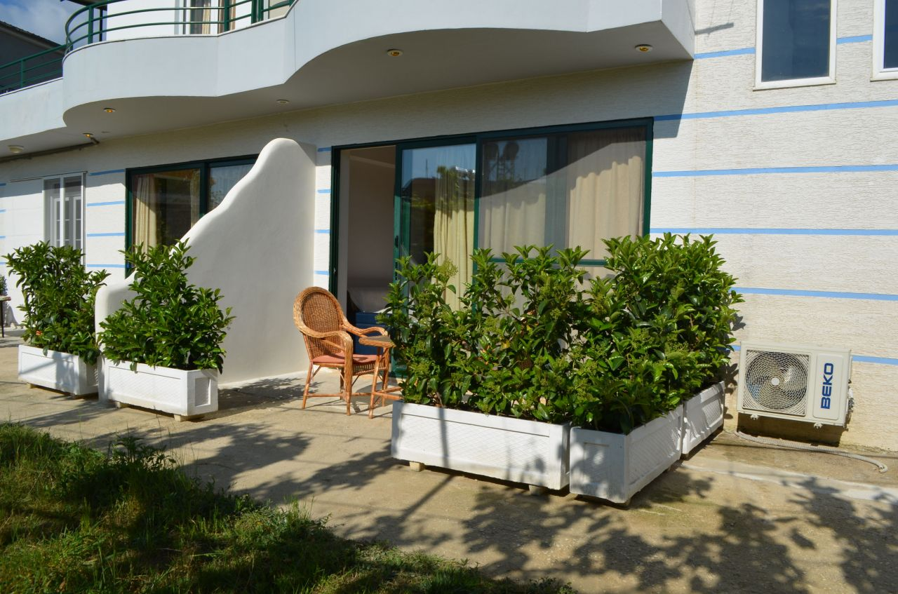 Holiday Studio Apartment in Ksamil, bright and peaceful.