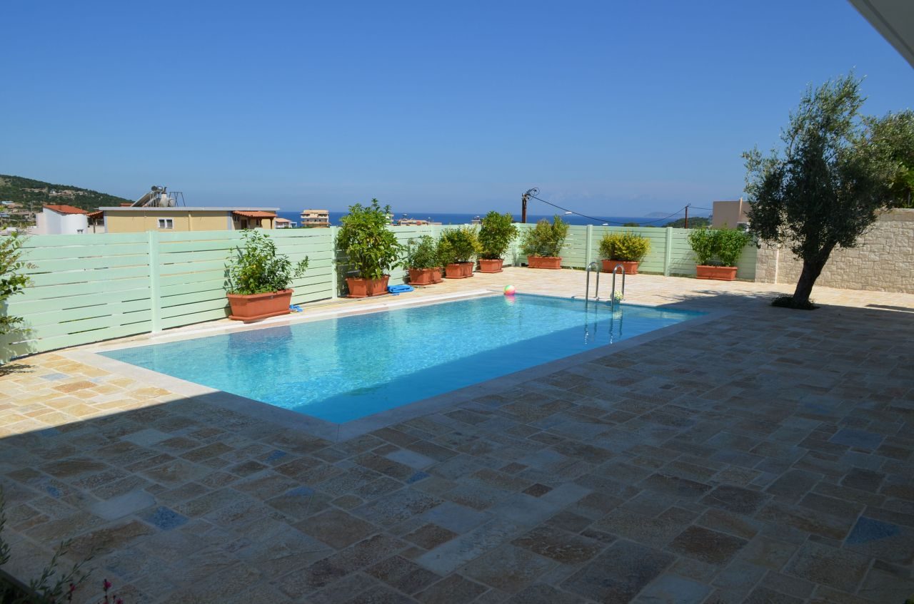 Holiday apartment with pool in Ksamil, Sarande