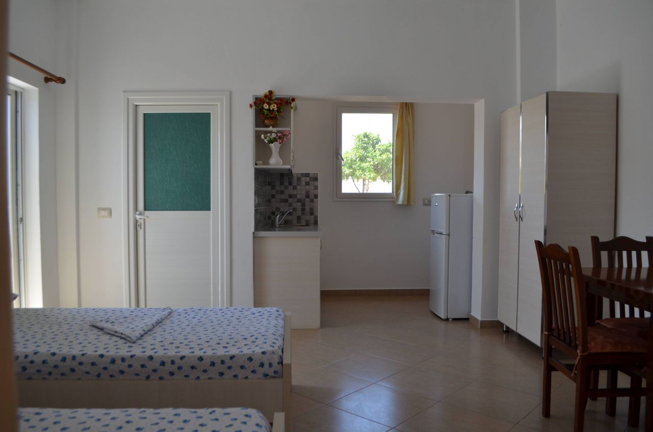 HOLIDAY IN ALBANIA. RENT APARTMENTS IN Ksamil , SARANDA
