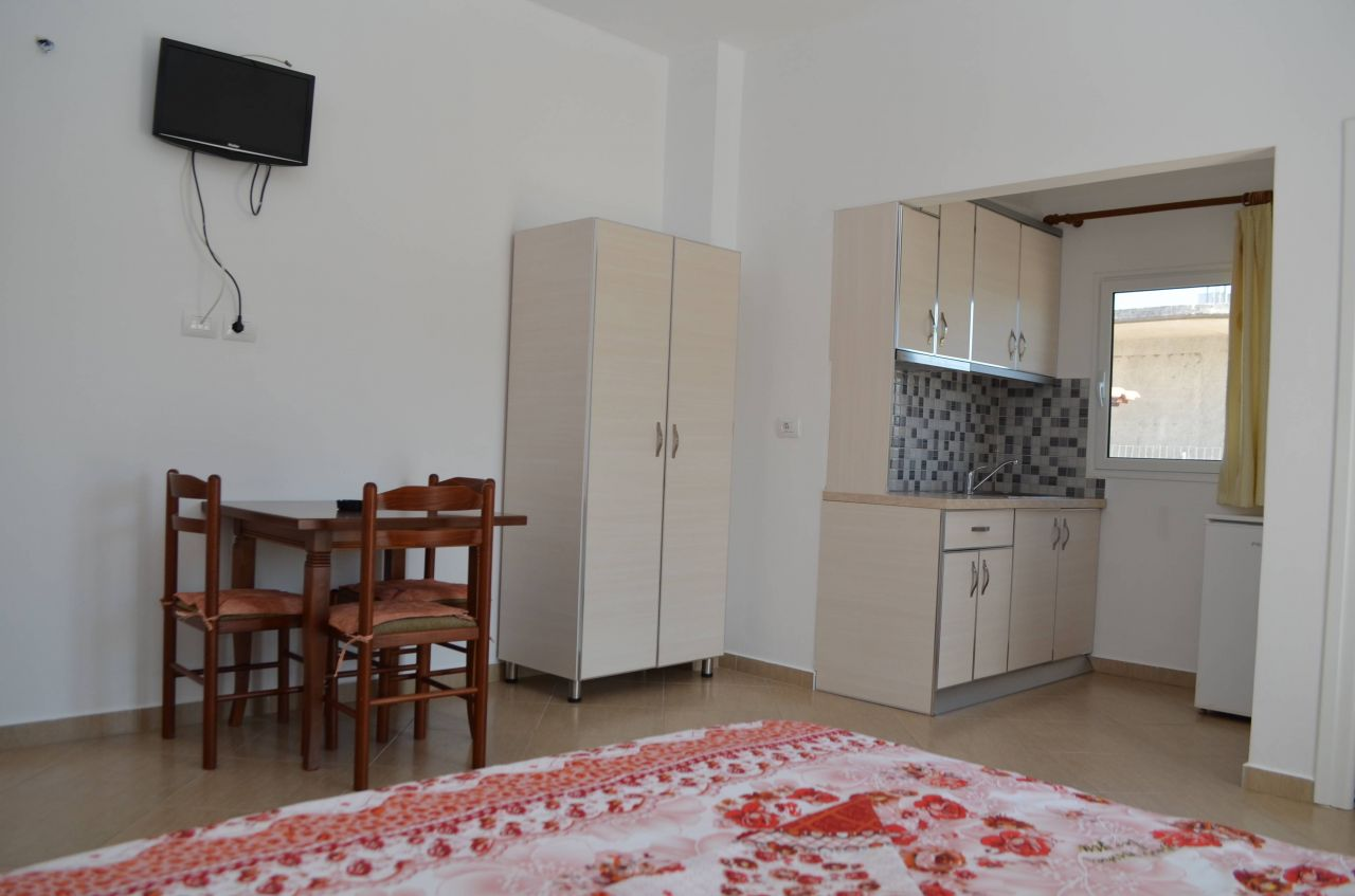 STUDIO APARTMENT FOR RENT IN ALBANIA. APARTMENT IN KSAMIL,SARANDE