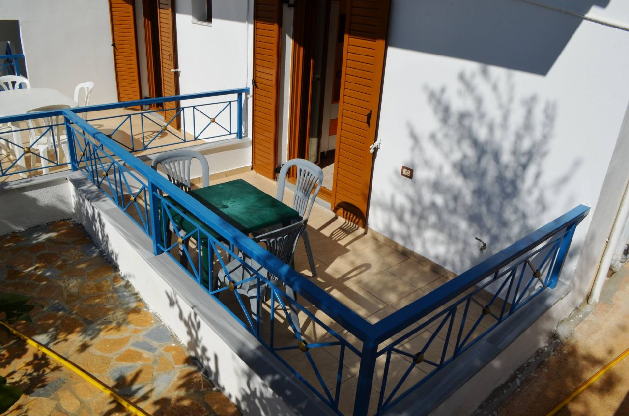 HOLIDAY APARTMENT FOR RENT IN KSAMIL, ALBANIA