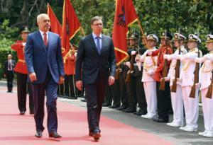 Serbian, Albanian businessmen meet to boost economic ties