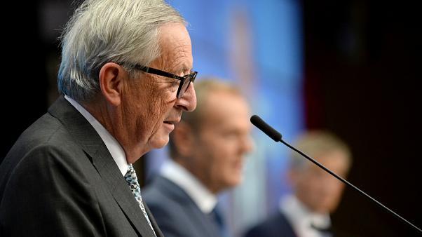 'A grave historic error': Juncker hits out as North Macedonia and Albania have EU bids blocked