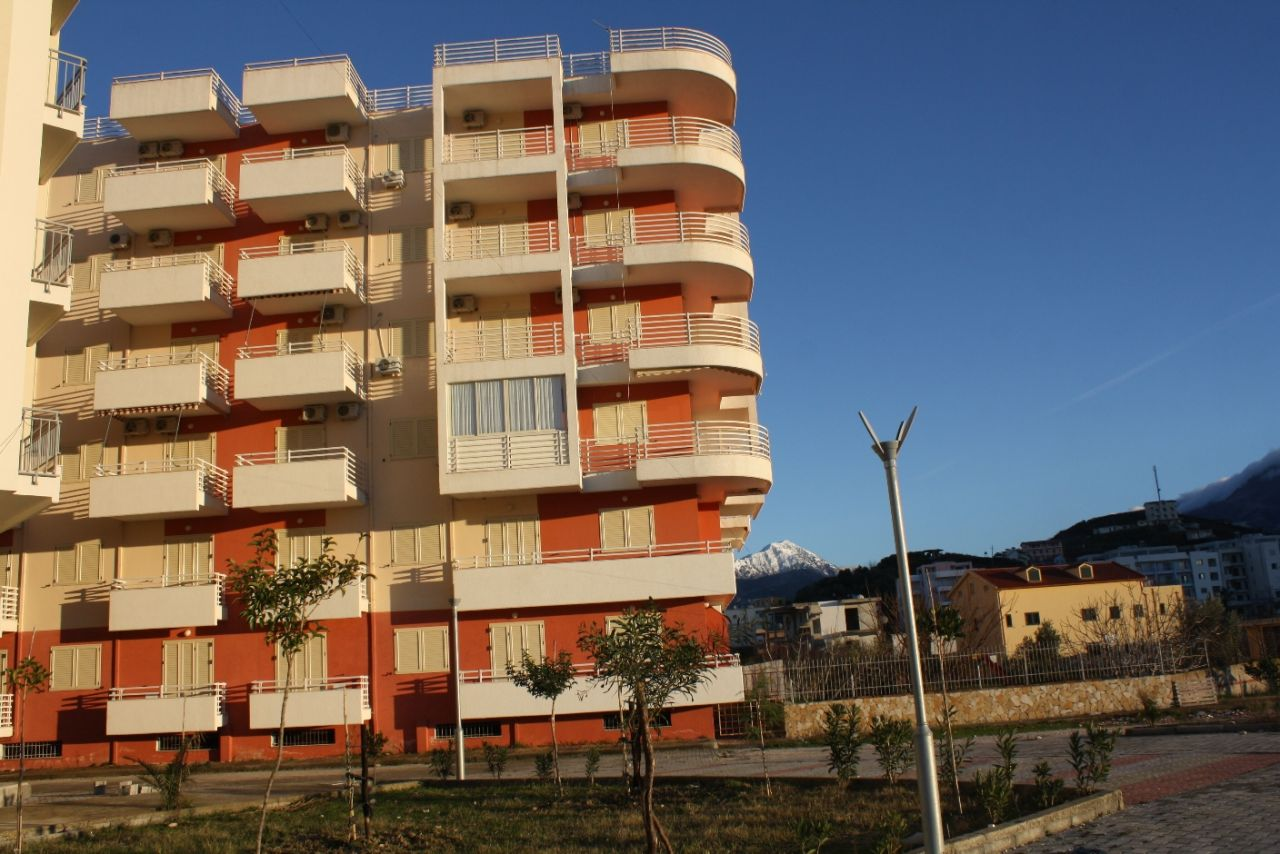 Apartment real estate in Orikum town south of Vlora