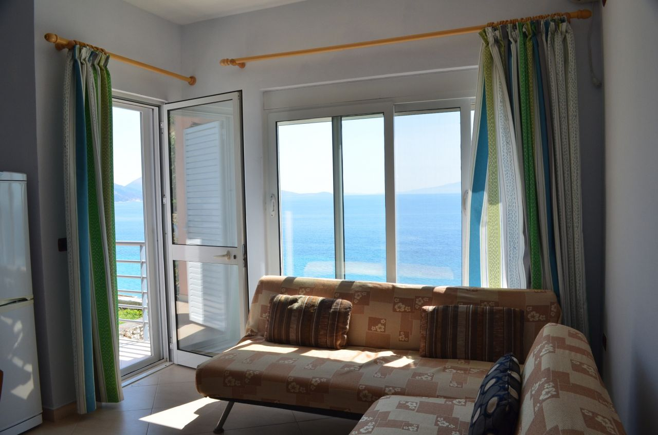 Holiday apartment for rent in Qeparo, close to Himara and very close to the sea.