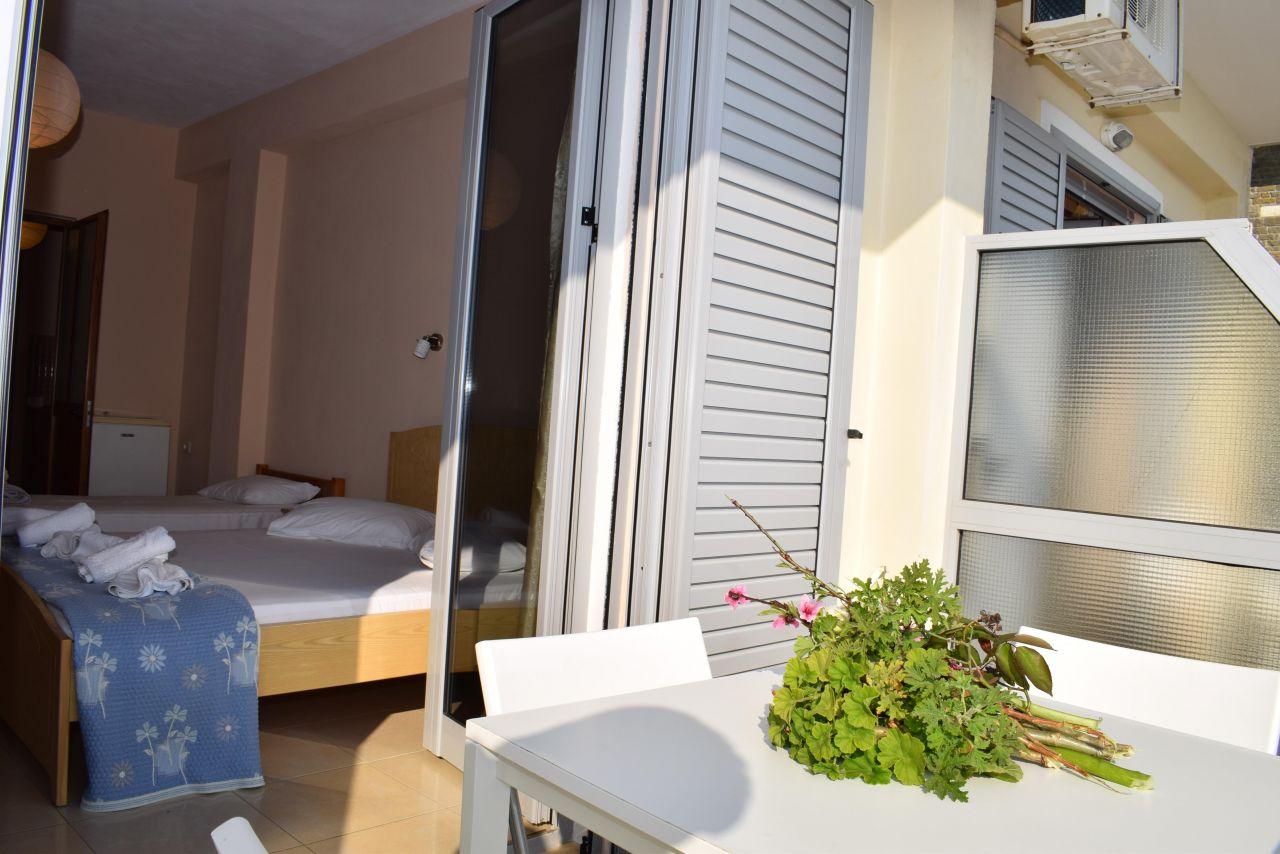 Holiday Studio Apartment for rent in Qeparo, Albania.