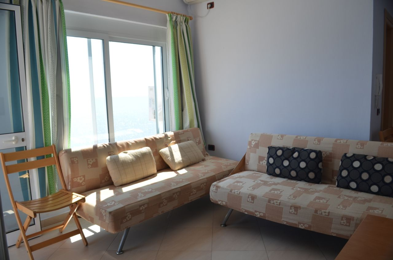 Apartments for Sale in the coast of the Ionian Sea, in Albania, in a village called Qeparo.