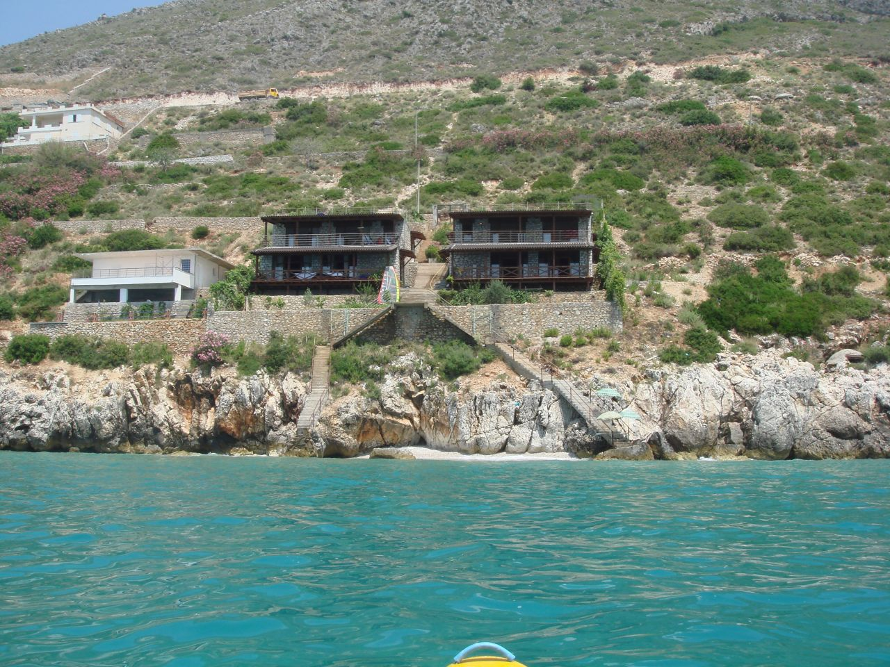 Albania property in stone for sale in Albania Riviera ,Qeparo