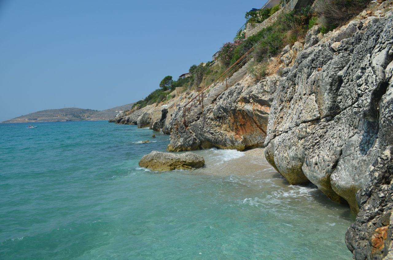 Albania property in stone for sale in Albania Riviera with fantastic views over the sea