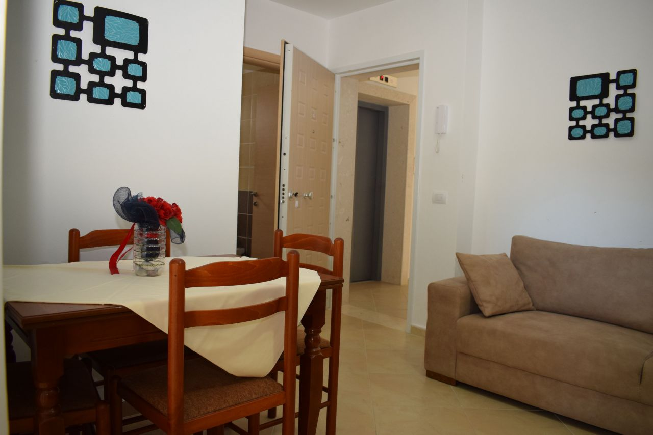 Albania Holiday Apartment Radhima Vlora First Line for Rent