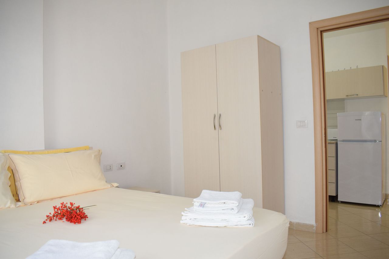 Holiday rental apartment in Radhime vlore with garden view blue coast