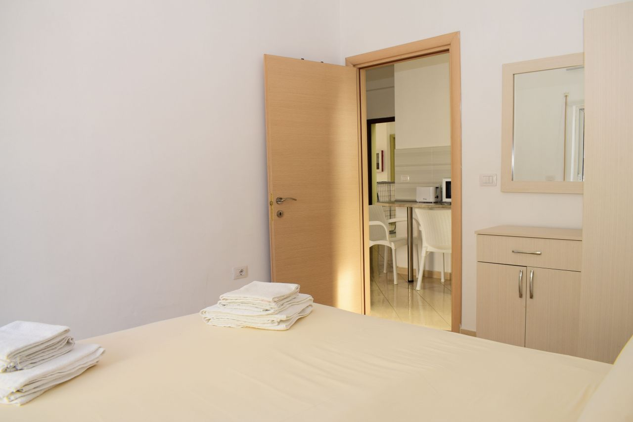 Radhime Garden Apartment, Rent in Vlora