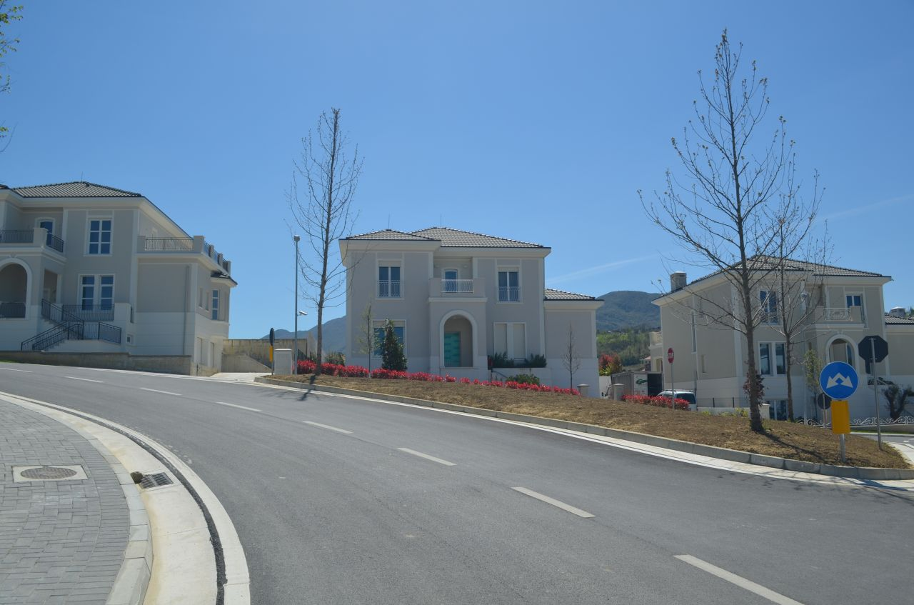 Villa for Rent in Tirana, Albania. Natural Surrounding in Gated Residence in Tirane