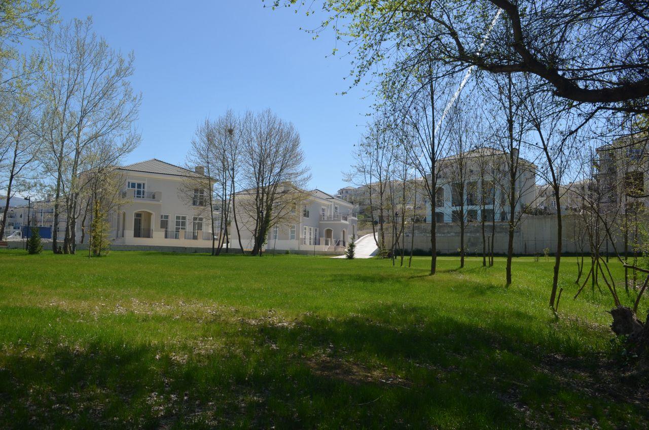 Villa for Sale in Tirane, Albania. Natural Surrounding in Gated Residence in Tirane