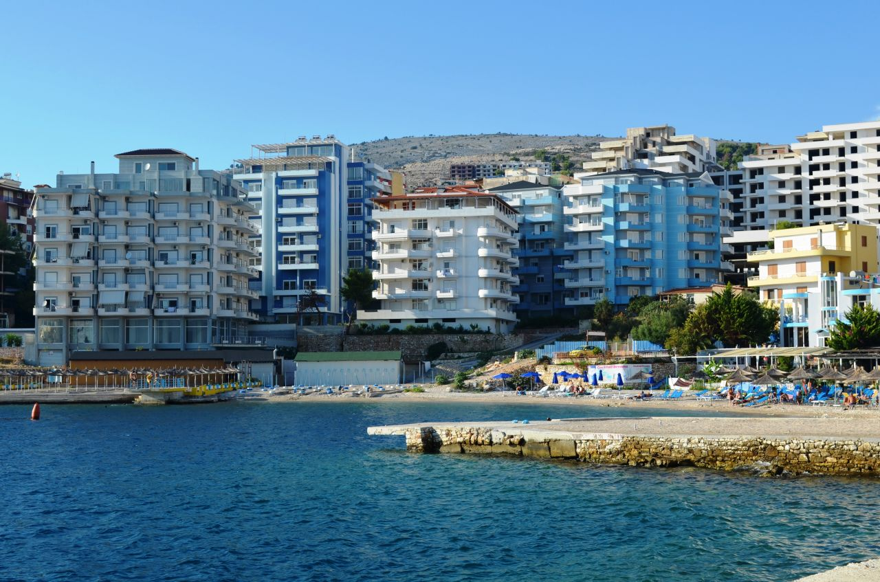 great quality apartments in saranda for sale next to the ionian sea front