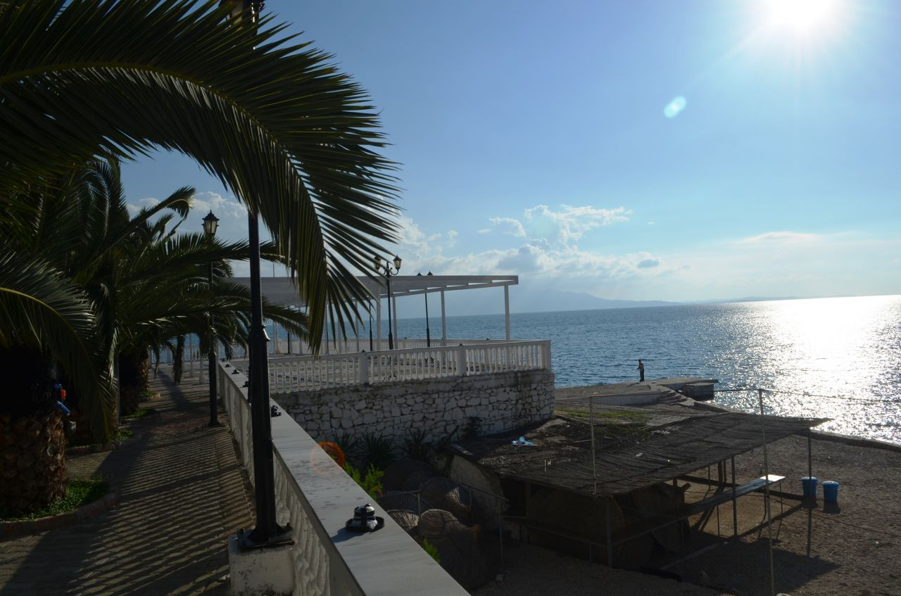 apartments for sale in saranda, next to the beach