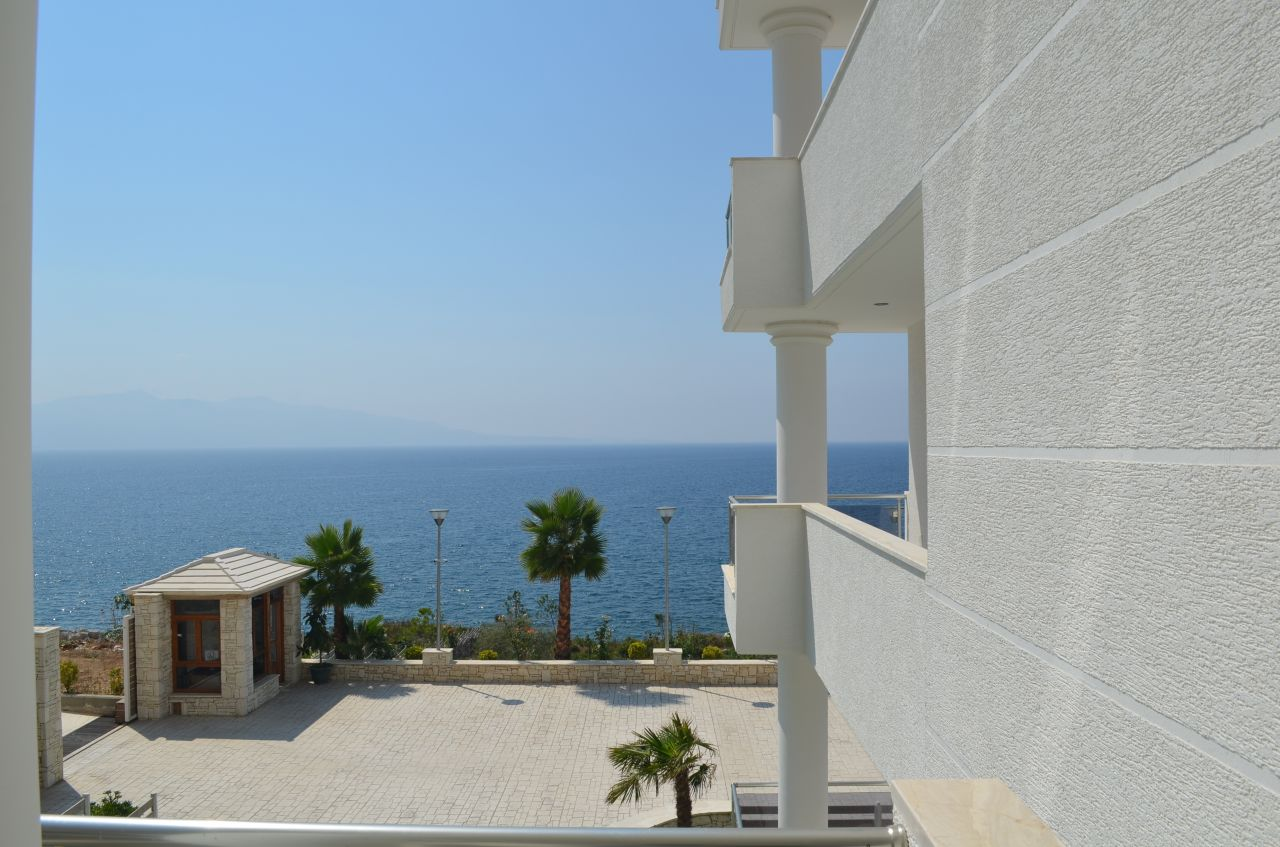 Albania Real Estate. Apartments in Saranda for Sale - 73.6m2