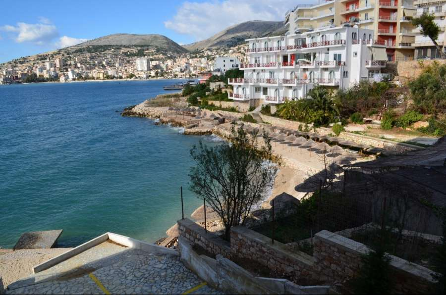 Seafront Apartments in Saranda, Albania. apartament with sea view for sale