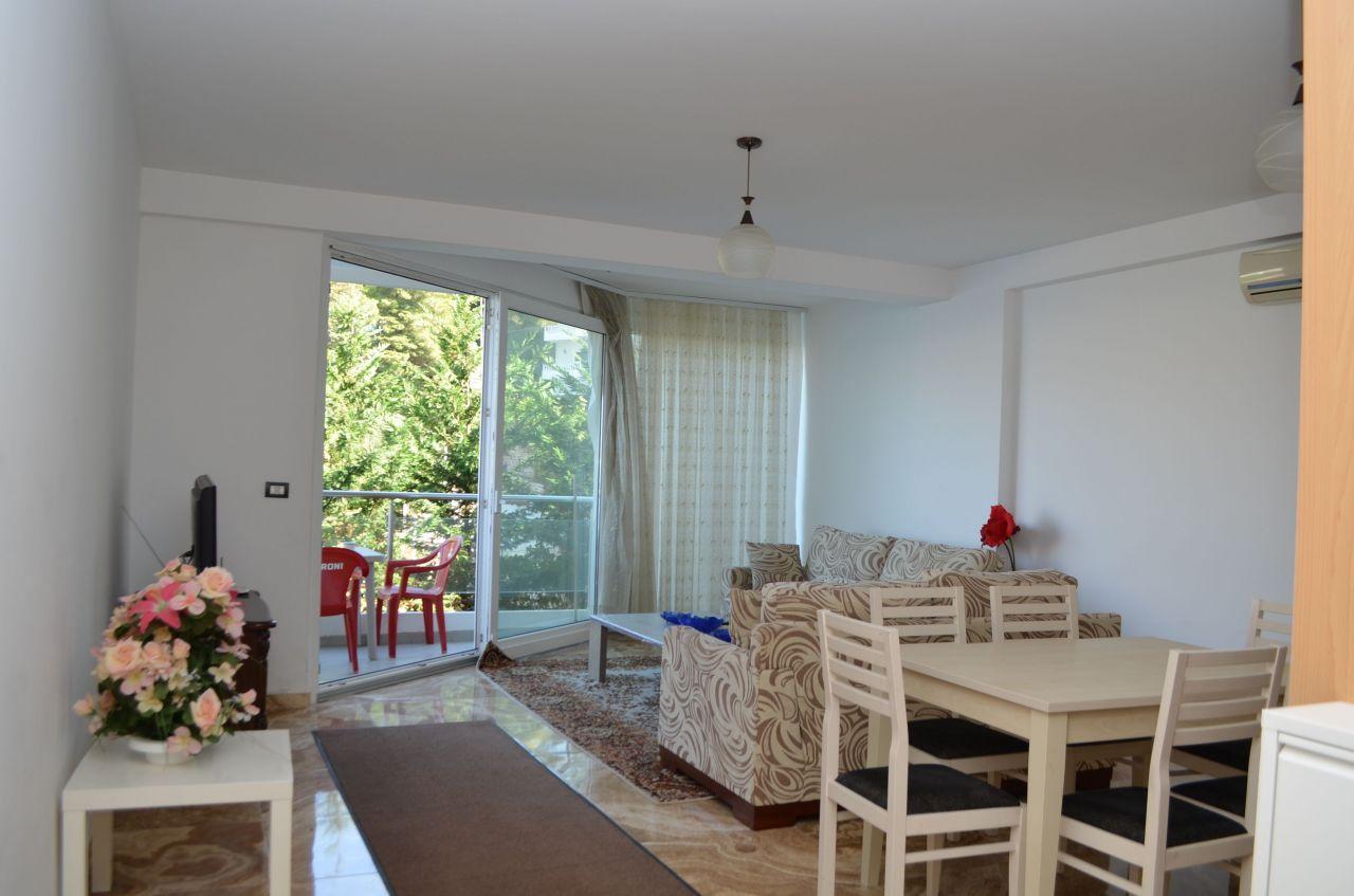 Holiday rental in Saranda next to the sea