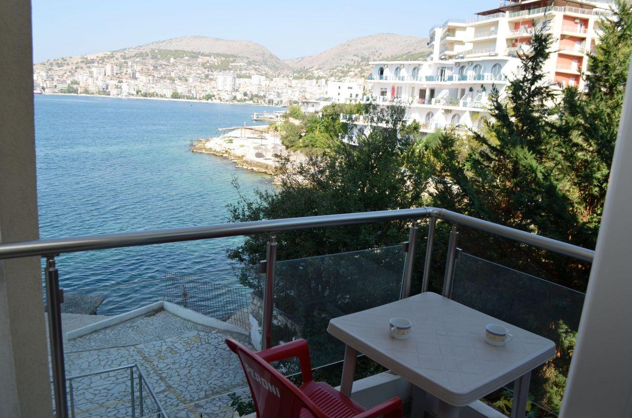 Rent Holiday Apartment in Albania, Saranda.  Apartment for Rent in Saranda, Next to Sea