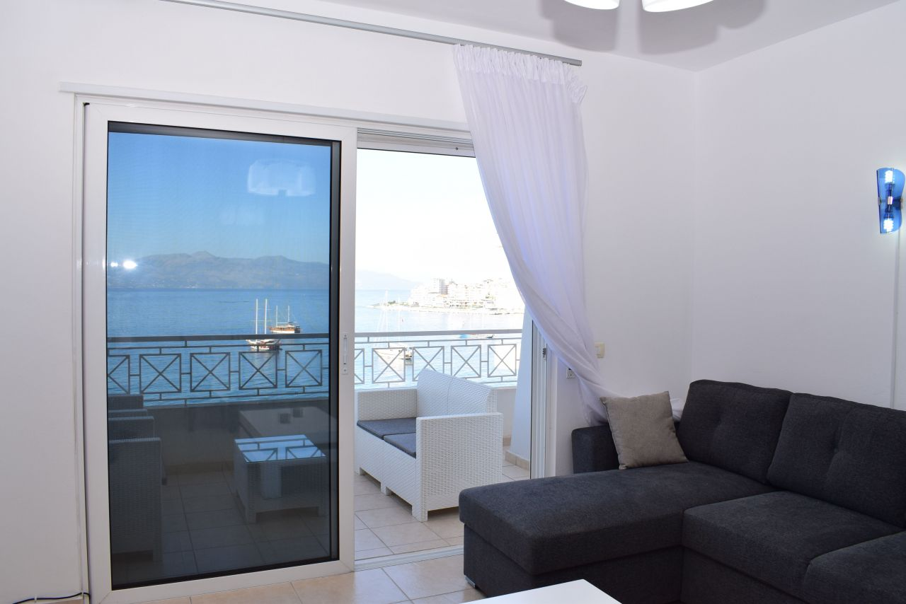 Holiday Apartment in Albania. Two bedroom apartment for rent in Saranda