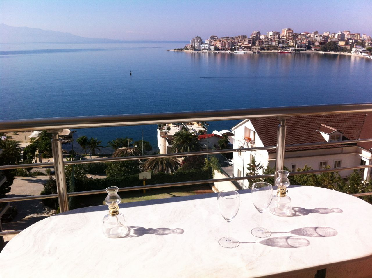 Holiday in Albania. Apartment for rent in Saranda