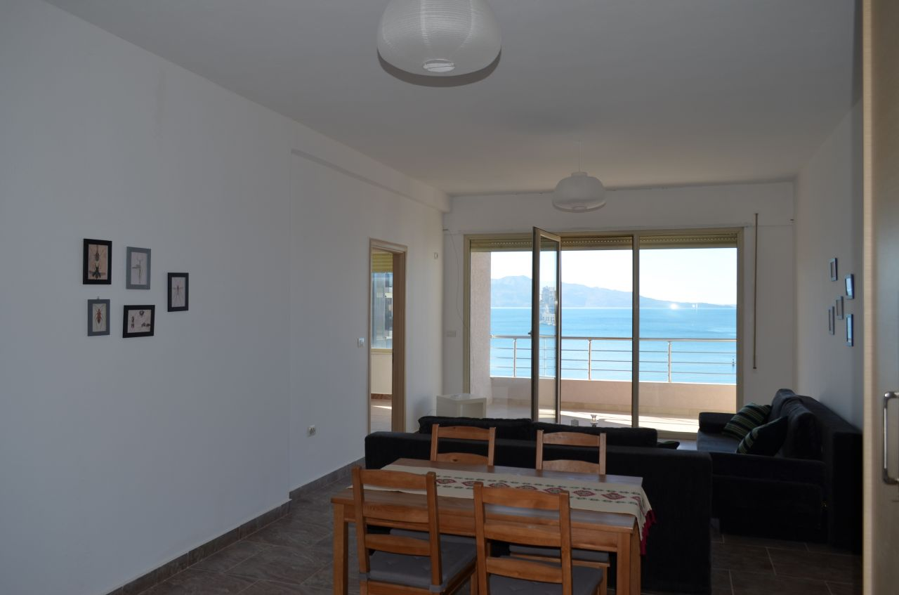 Holiday apartment for rent in Saranda, an Albanian city close to the sea. Albania Real Estate for vacations.