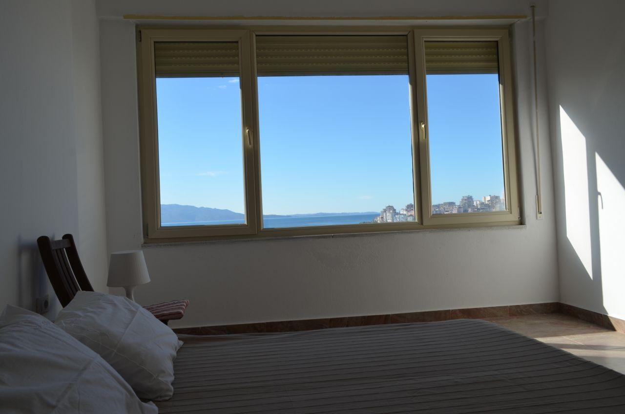 Apartament do wynajęcia w Saranda, albańskiego miasta, blisko morza. Albania nieruchomości na wakacje.