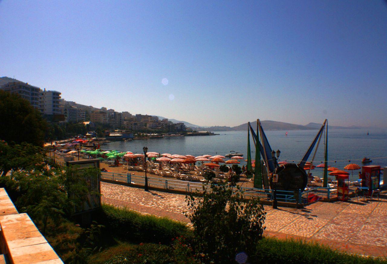 Bérelhető nyaraló apartman Albániában, Saranda. Apartman kiadó Saranda-ban, közvetlenül a tengerparton – Apartman Bérlés – 51 m²