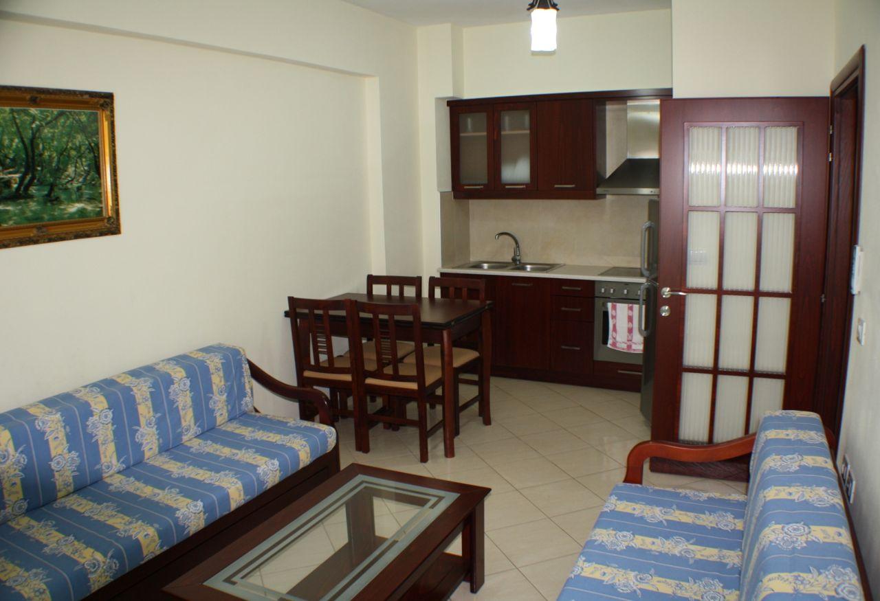 Wynajem apartamentu wakacyjnego w Albanii, w Sarandzie. Dom wakacyjny do wynajęcia w Sarandzie, nad samym morzem
