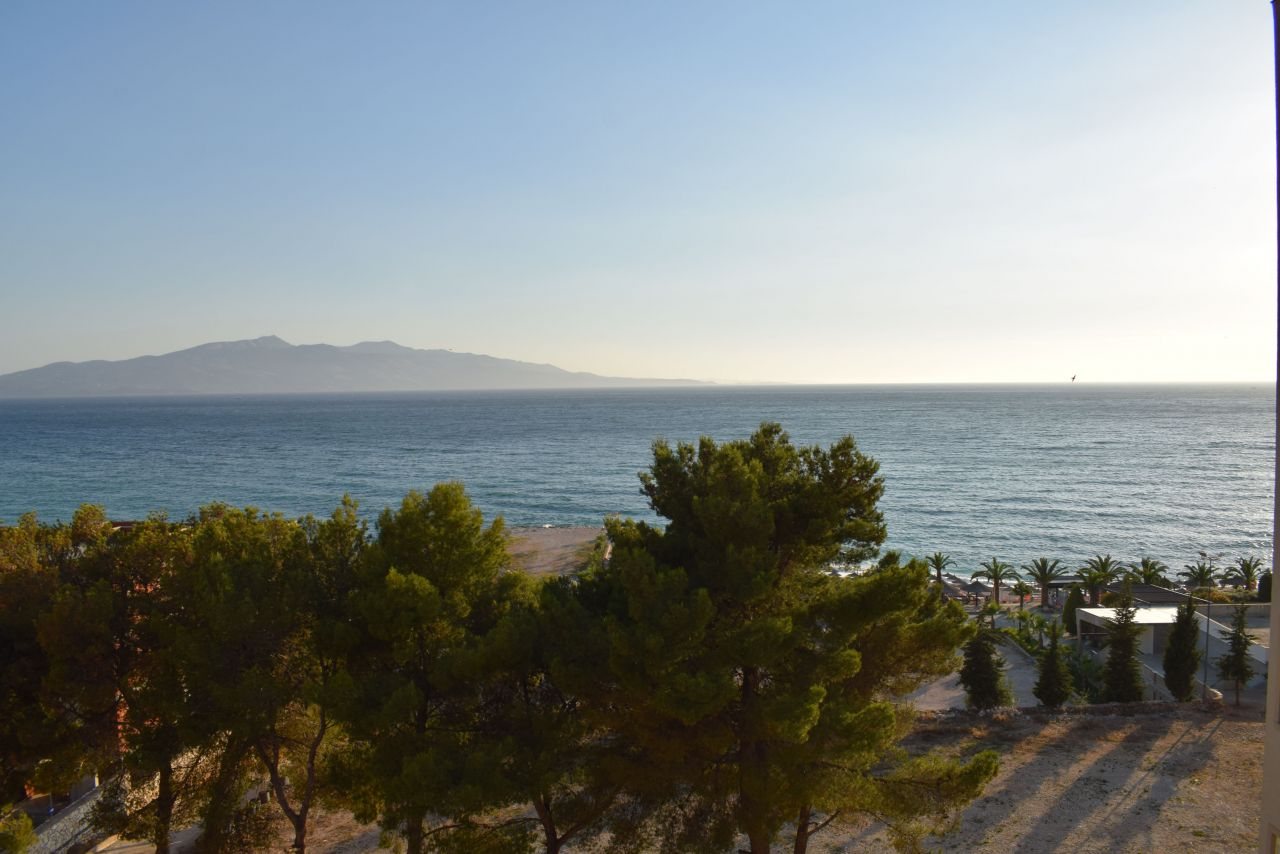 Holiday Apartments for rent in Sarande. Apartment with sea view in Albania for Rent.