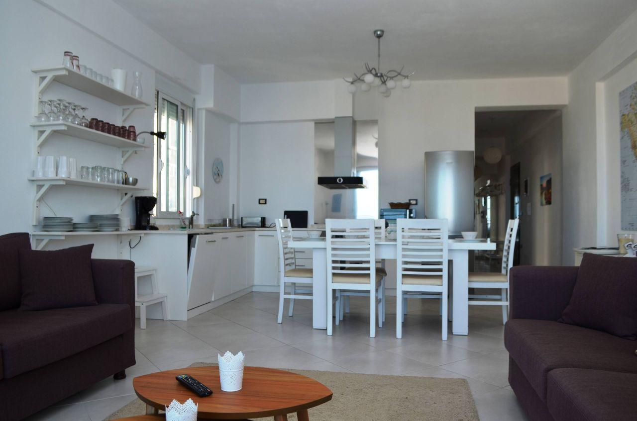 Wonderful Holiday Apartment in Saranda. Vacation in Albania
