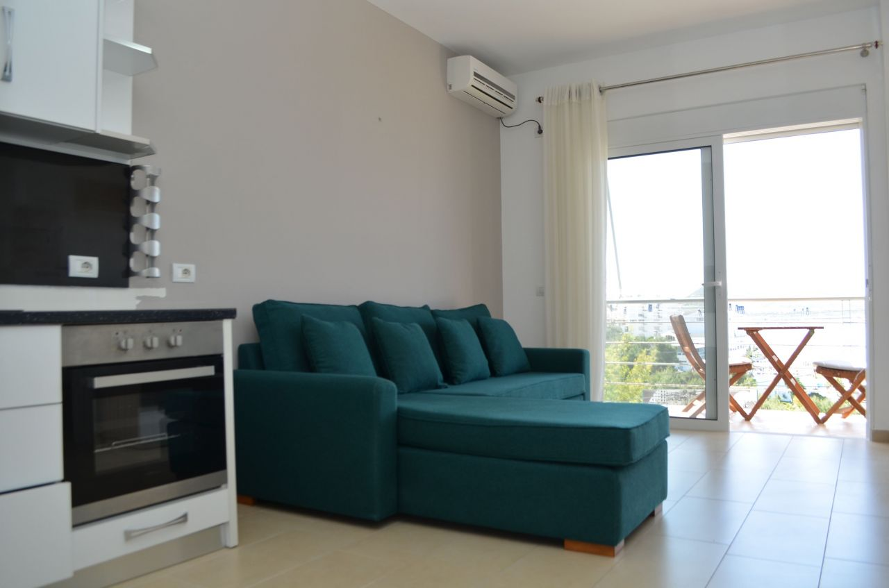 Apartment for rent for vacations in Saranda, in the albanian riviera.