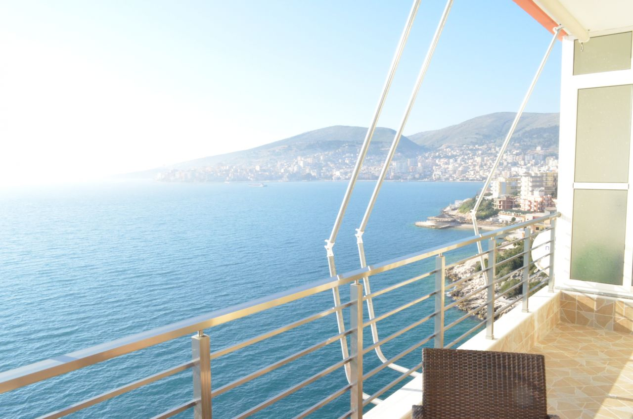 Holiday Apartment for Rent in Saranda, a coastal city in the south of Albania.