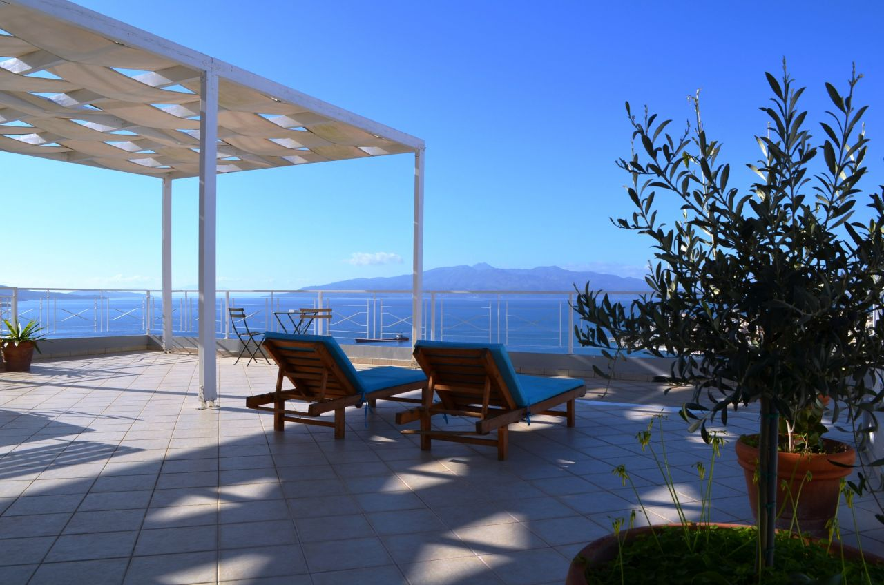 Rent Wonderful Penthouse In Saranda