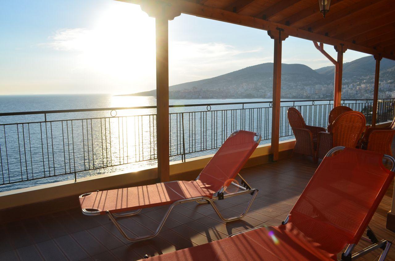 Penthouse for Rent for vacations in Saranda for summer holidays in the beach