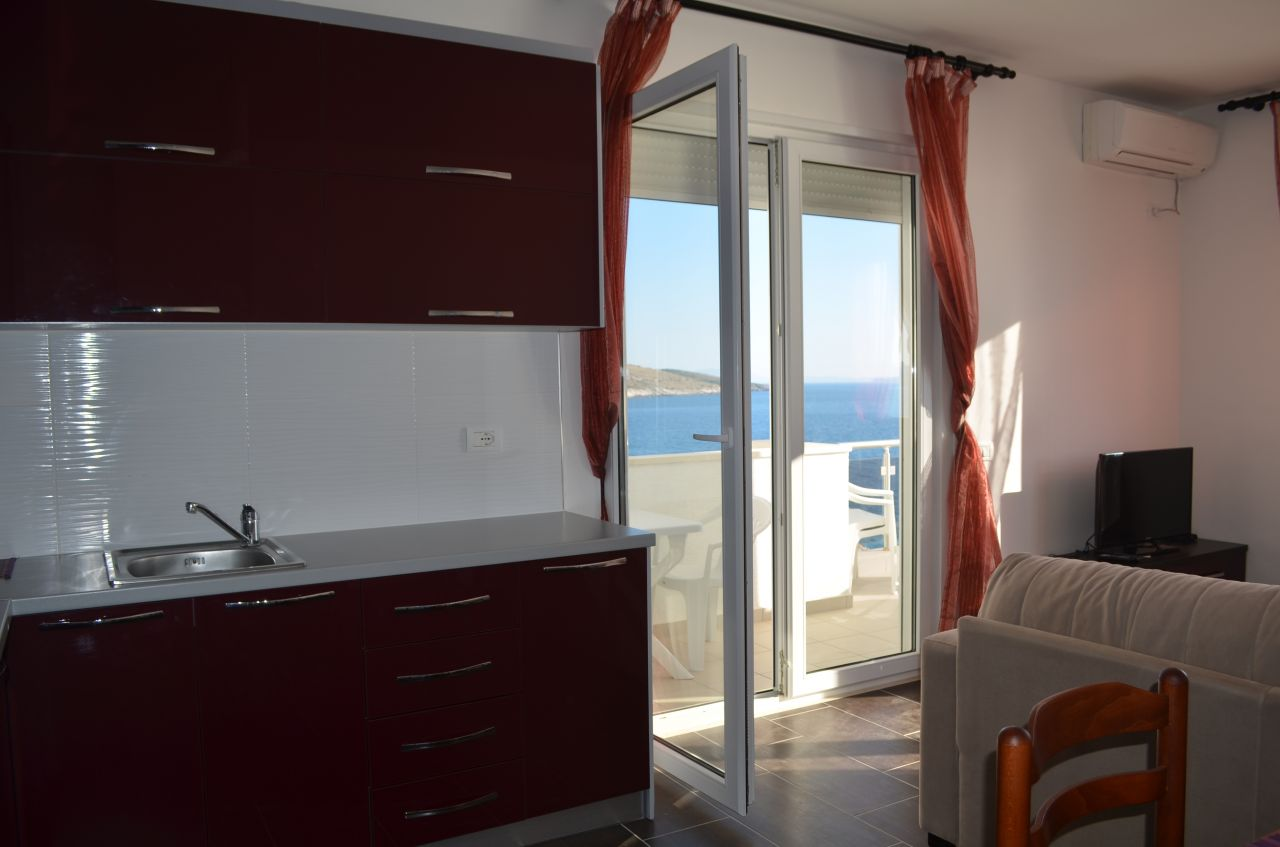 Apartment for Rent for vacations in Saranda for summer holidays in the beach.