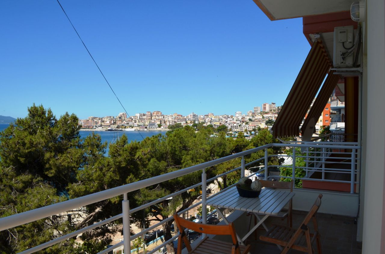 Vacation Rental In Saranda Apartment With Two Bedrooms Next To The Beach