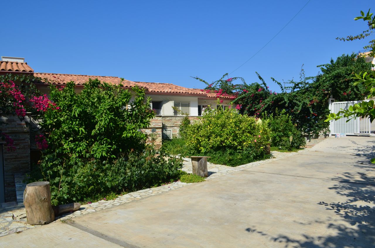 a wonderful villa for sale in saranda just next to the sea in the south of Albania