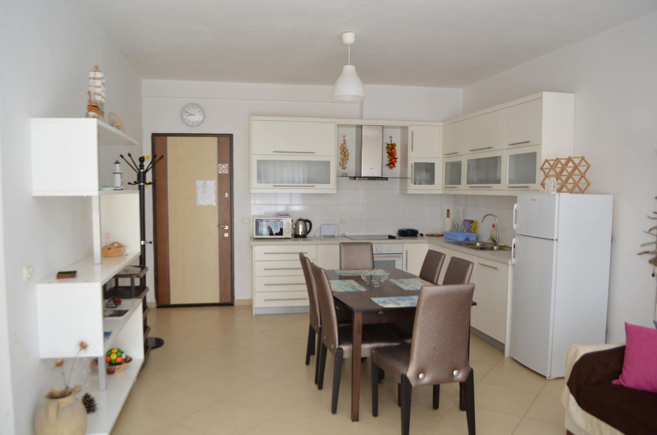 vacation apartments in Saranda for rent just next to the beach
