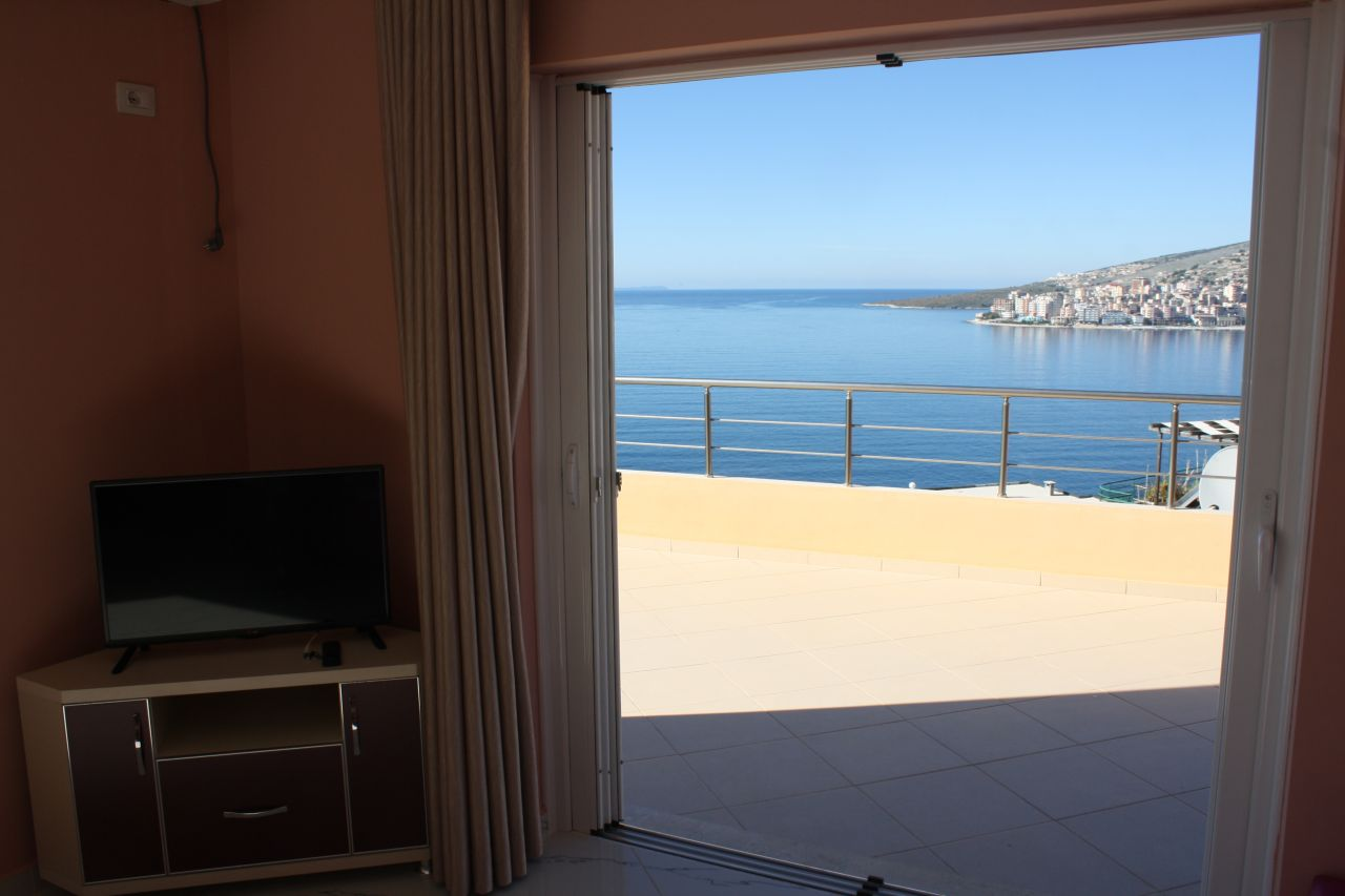 Penthouse Apartment in Saranda. Apartments for Rent in Albania Seaside
