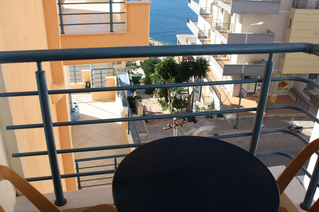 Apartment for rent in Saranda. One bedroom apartment for rent in Albania